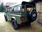 1992 LR LHD Defender 3 dr 200 Tdi A Eastor Green left rear.jpg