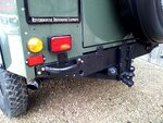 1992 LR LHD Defender 3 dr 200 Tdi A Eastor Green rear crossmember.jpg