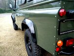1992 LR LHD Defender 3 dr 200 Tdi A Eastor Green body left rear.jpg